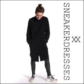 Sneaker dresses Button Dots Black