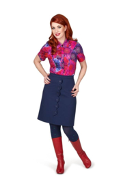 Margot BlueBerry Hips Skirt