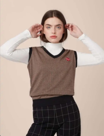 Mademoiselle YeYe Miss Preppy Sweater Vest