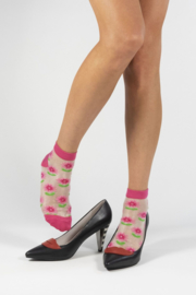 Margot Peonies Socks