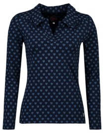 Tante Betsy Shirt Nellie Hearts Navy