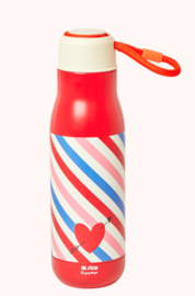 Rice Stainless steel Bottle Candy stripes