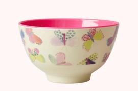 Rice Melamine bowl Vlinders