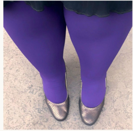 Snag Tights Suffragette