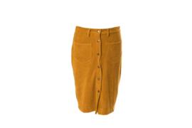 Mooi Vrolijk Skirt Beautiful Rib Basic Oker