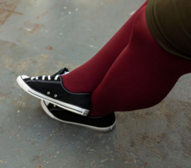 Snag Tights Burgundy