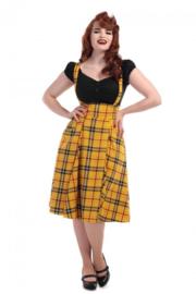 Collectif Mainline Alexa Check skirt