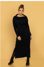 Tante Betsy  Dress Tetu Long Stripes Black