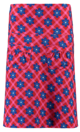 Tante Betsy Skirt Flow Chekkies Daisy red