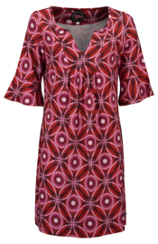 Tante Betsy Spiros Tunic dress Red