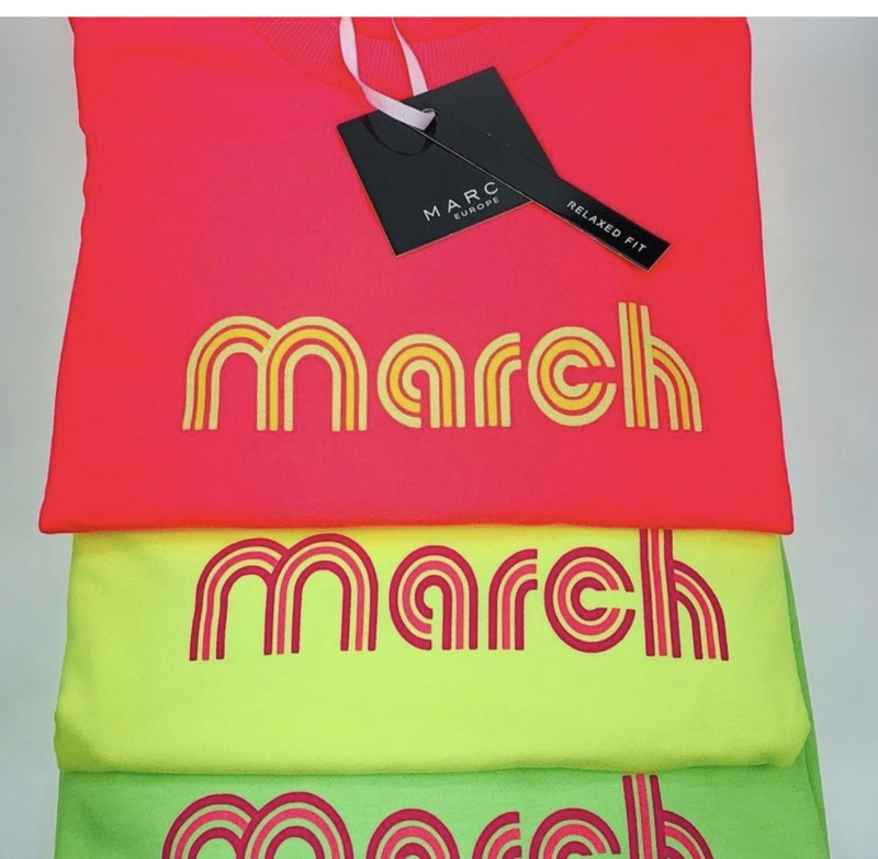 March Sweater Lime