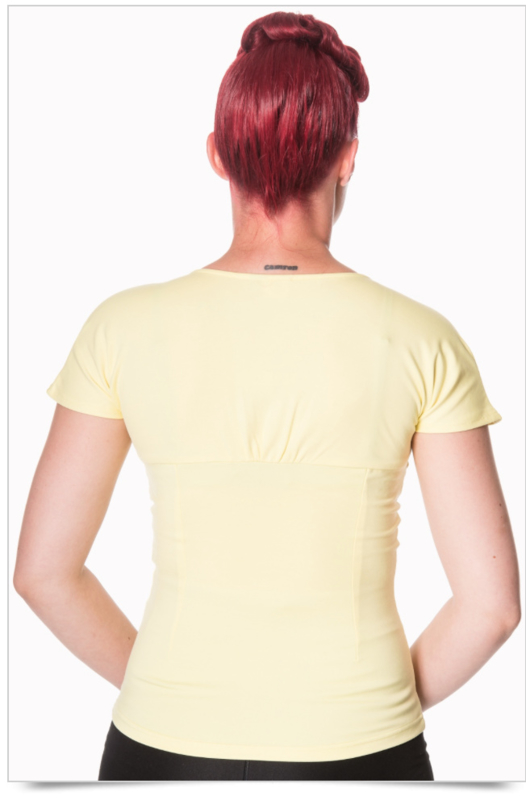 Banned Top Yellow