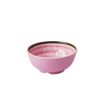 Rice Melamine bowl Pink
