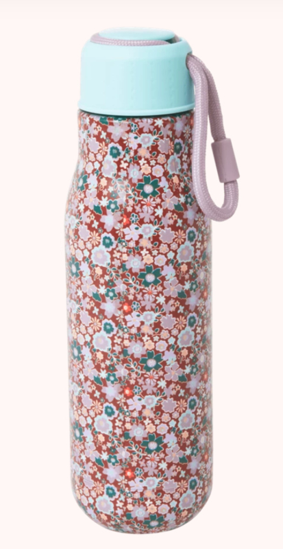 Rice Stainless steel Bottle Fall Floral