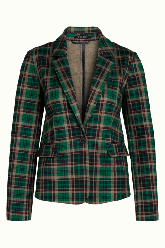 King Louie Daisy Blazer Rodeo Check
