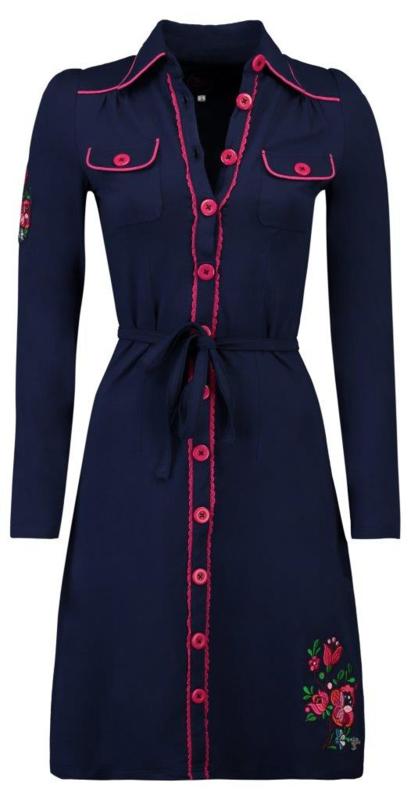 Tante Betsy Dress Blue