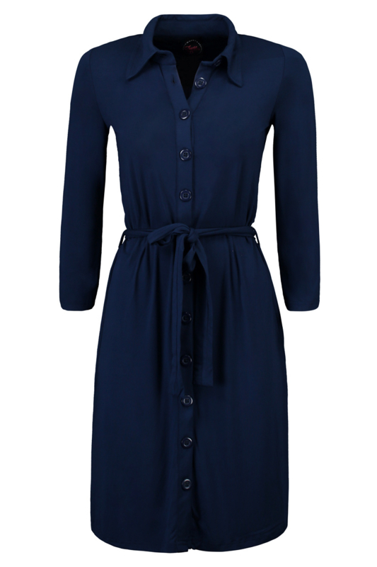 Tante Betsy shirt dress Solid Navy