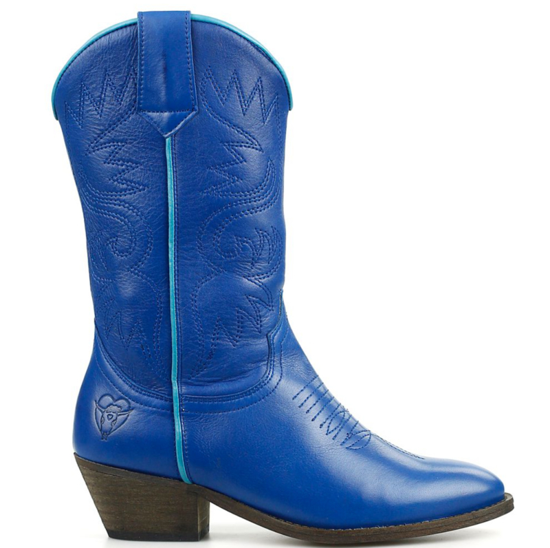 La Pintura jeans Kobalt blauw