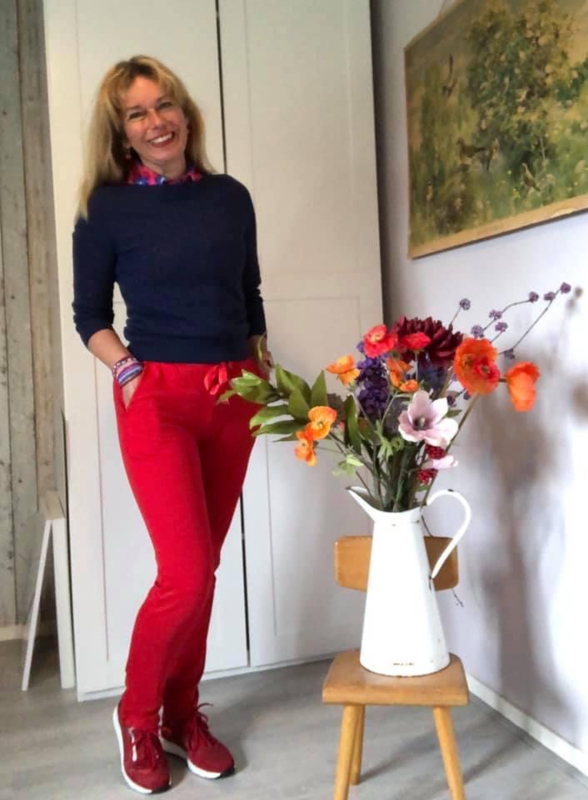 March Pants Rood