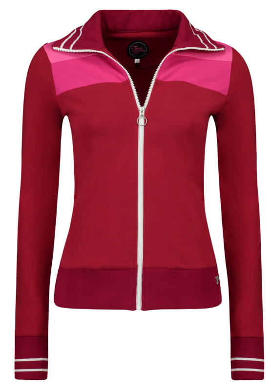 Tante Betsy Sporty Jacket Multi Cherry