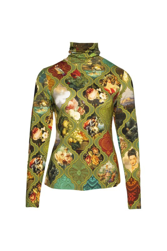 Lalamour T shirt Turtle Neck Rococo