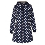 Danefæ Softshell Jacket Navy Dots