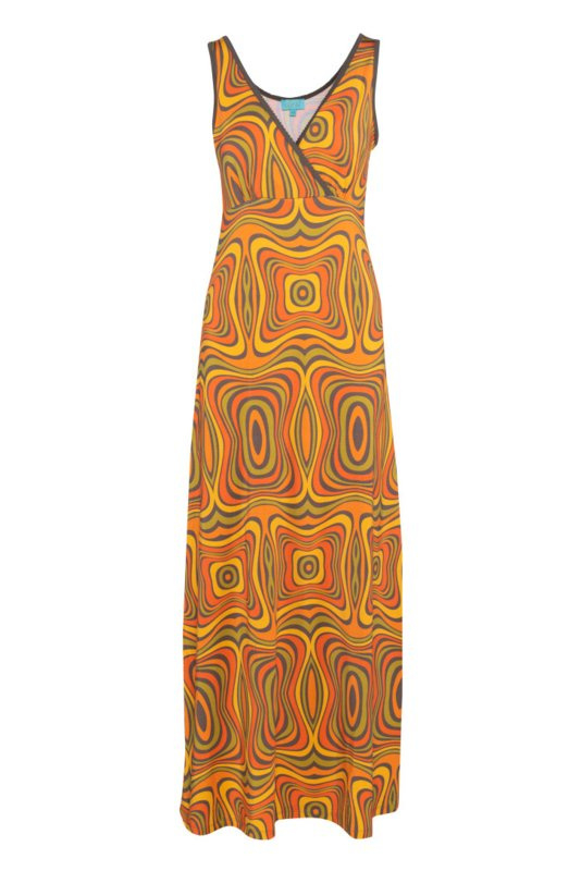 Lalamour Long dress Wave