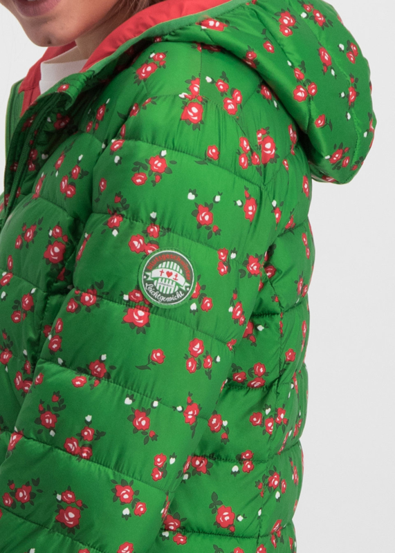 Blutsgeschwister Jacket Green Roses