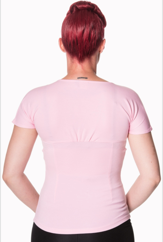 Banned Top Pink