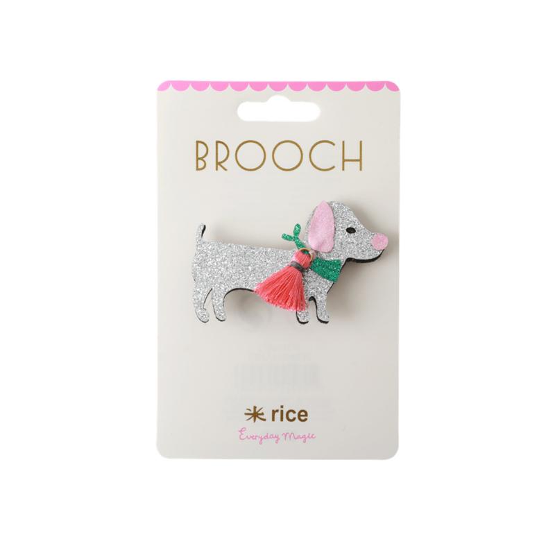 Rice Broches Hondje