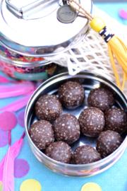 18 maart 2019 - Peanut Butter Chocolate Balls - No Bake