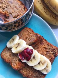 Happy Bananen & Cranberry Brood