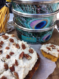 5 november 2018 - Pompoencake met cashewfrosting