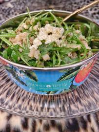 Vegetarische parelcouscous salade met truffel