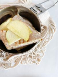 Volkoren wraps met groene appel, brie en kipfilet