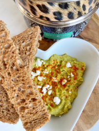 Healthy Avocadospread met Feta