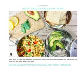 Het Groene Broertje RECEPT Bulgur Salade