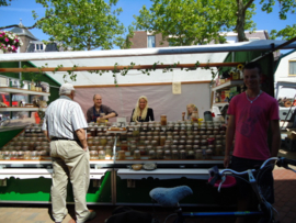 Weekmarkt in Drachten