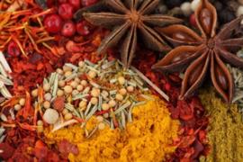 Specerijen en keukenkruiden