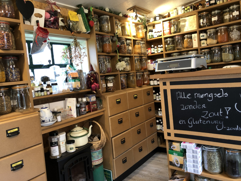 Het kleinste kruidenwinkeltje