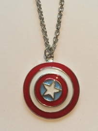 Captain America: ketting Schild