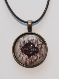 Harry Potter: ketting Marauders Map dome