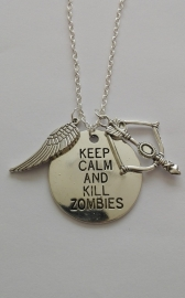 Walking Dead: ketting Keep Calm