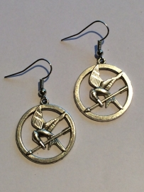 Hunger Games: oorbellen Mockingjay