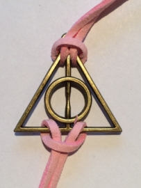 Harry Potter: armband Deathly Hallows