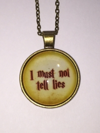 Harry Potter: ketting I must Not tell Lies dome
