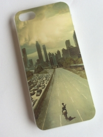 Walking Dead: iPhone 5 hard cover Lonely Man
