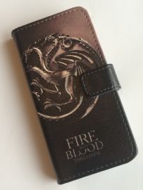 Game of Thrones: iPhone 5 wallet cover Fire & Blood