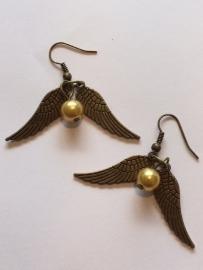 Harry Potter: oorbellen Gouden Snaai