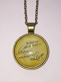 Harry Potter: ketting Dumbledore dome